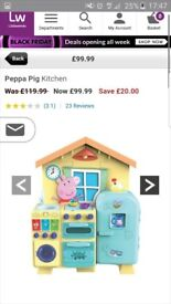 BNIB Peppa Pig Kitchen