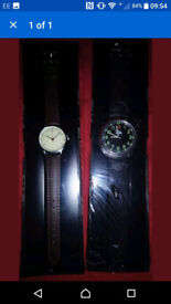 2 X MENS WATCHES NEW SEALED
