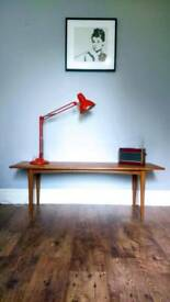 Vintage Retro Danish Mid Century Coffee Table - Delivery Available