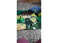Ben 10 Blanket and Cushion