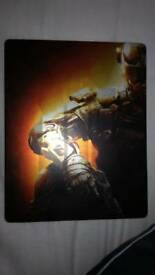 Call fo duty: Black Ops 3 Ps4 steel case with game