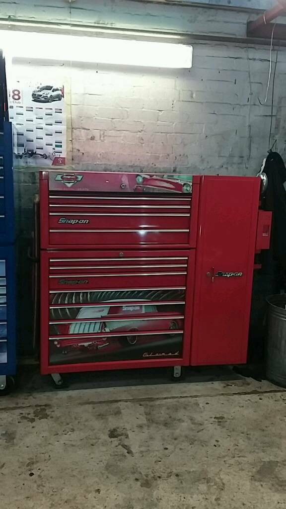 Snap-on tool box stack