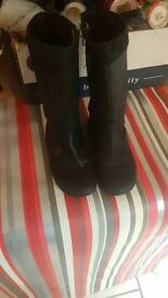 Girls size 13 leather boots