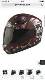 Motorbike helmet - Small 55cm-56cm - Viper - Trojan