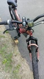 "Trax TFS1 Mountain Bike - £45 ono - 18 Speed - 26"" Black Alloy Wheels - 18"" Frame - 075 3888 2852"
