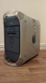 Apple Power Mac G4 Quicksilver 533MHz 1GB RAM 40GB HDD IOMEGA ZIP 250 Mac OS X Tiger 10.4