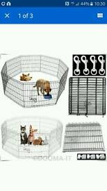 Extra large indoor/outdoor pet pen cage