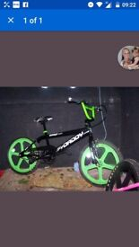 Big daddy rooster BMX ex display skymag wheels current model