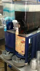 Twin slush machine ideal for parties