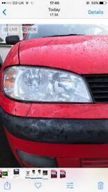 Seat Ibiza/cordoba headlamp. Good condition, 2 bulbs. Drivers side. Selling as wrong for my car