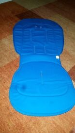 Bugaboo Bee Plus Seat Liner and Parasol in Royal Blue - Great Condition