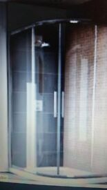 quadrent shower enclosure and base 1200mm x 900mm NEW IN BOX
