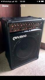 CARLSBRO COBRA K115 BASS/ KEYBOARD COMBO AMP £75
