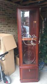 Avalon Meadow display cabinet - with light
