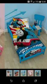 Thomas the tank junior bed