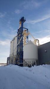 Grain Storage and Handling System, Meridian Bins, Laidig 3445 unlodaer, Leg, etc....