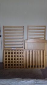 Mama's & pappa'-s cot bed for sale