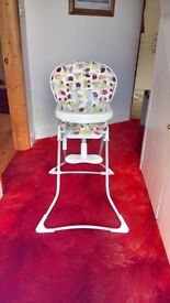 Brand new never used highchair
