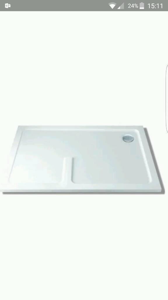 Brand new shower tray