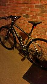mens carrera gryphon bike