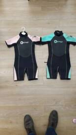 Osprey Kids Wetsuits (age 4-5)