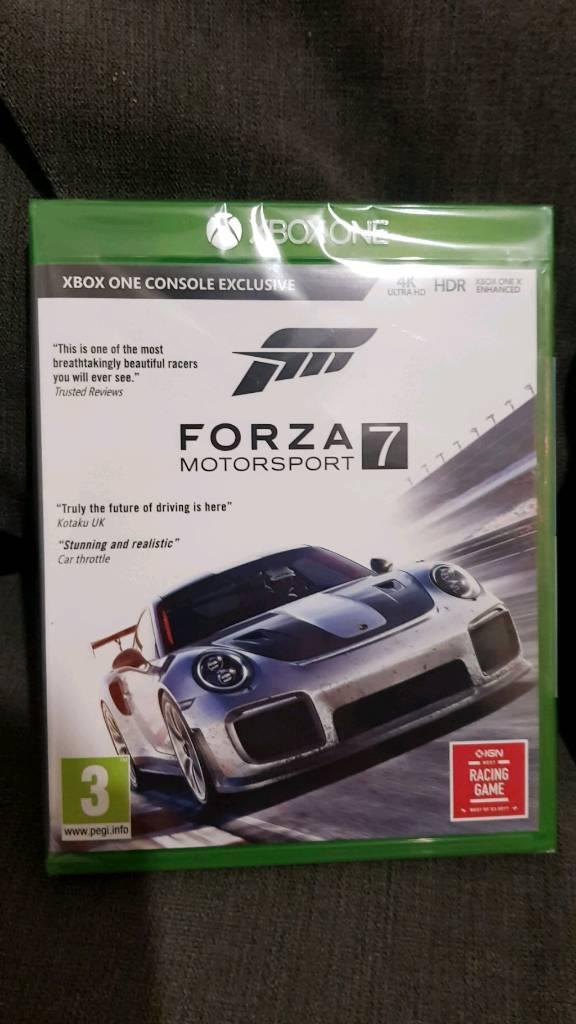 Forza 7 Motorsport Xbox One. Brand new sealed. £35