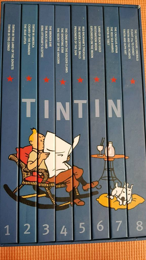 The Adventures Of Tintin Collectors Gift Set