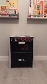 Brio wooden toy stove