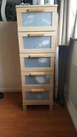 Chest of draws x5 ( Ikea) (SOLD)