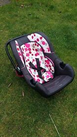 Baby Car Seat 0 to 12-15 months