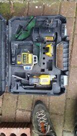 Dewalt green beam multi laser level new DCE089