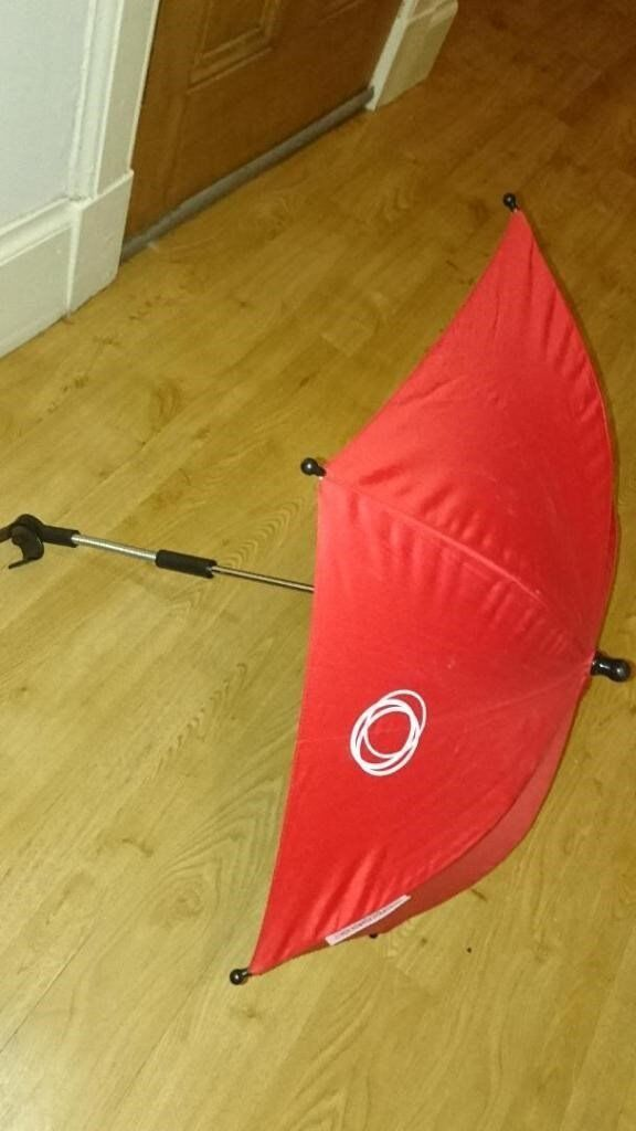 Bugaboo Clip-on Pram Parasol (red)