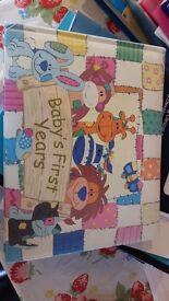 Birth to five years memoir book