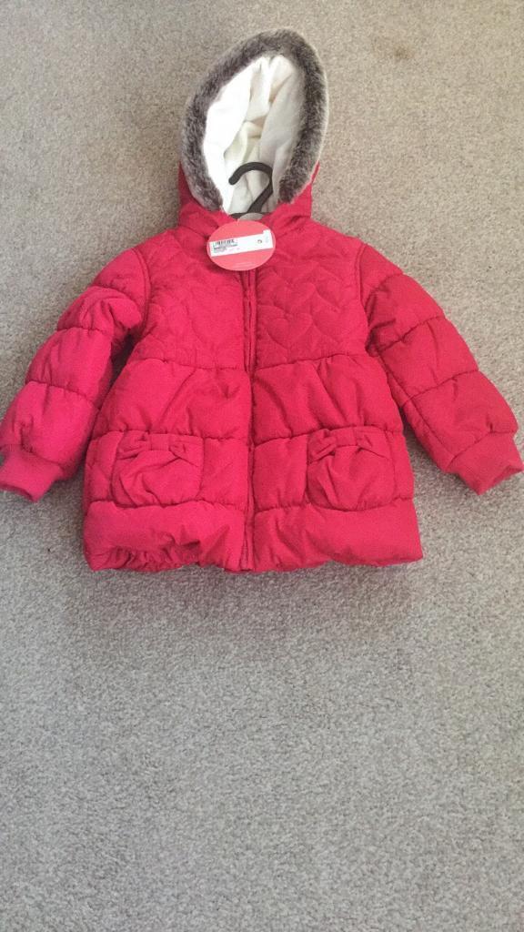 M&S girls coat