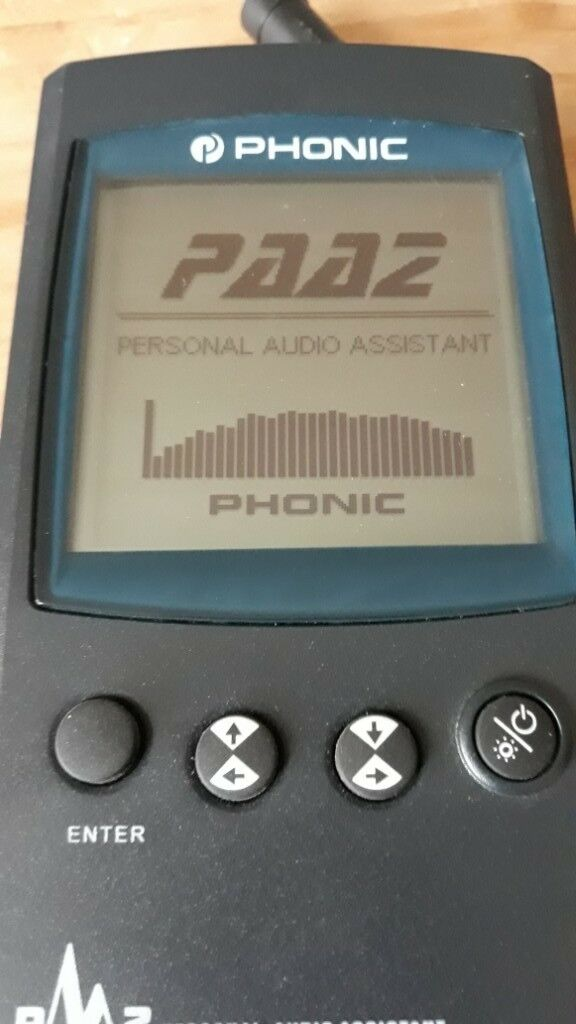 Phonic PAA2 Sound Meter/RTA analyser | in Forres, Moray | Gumtree