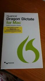A brand new Nuance Dragon Dictate for Mac version 4