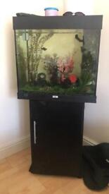 Jewel compact 2ft with stand