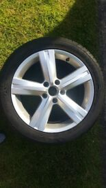 "Vw passat b7 Fontana alloy wheel 17"" fits 235 45 17 tyre"
