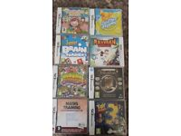 Mixture of Nintendo DS games