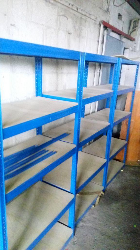 Garage Shed Racking Shelving Storage Boltless 5 4 Tier