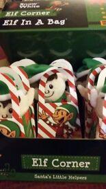 Little elf in a bag