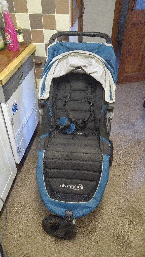 Baby Jogger City Mini Gt Single Stroller Teal Blue In Derby Derbyshire Gumtree