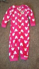 Girls onsie pajamas