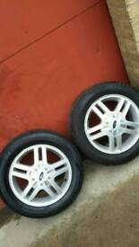 "(X2) 15"" ford alloys"