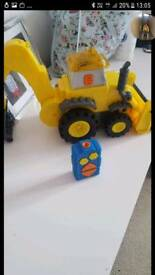 As new bob the builder remote scoop