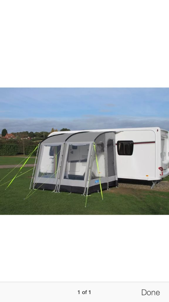 Kampa 260 porch awning with sleeping annex | in Wombwell ...
