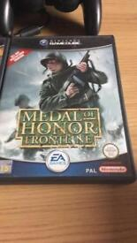 Game cube medal of honour games