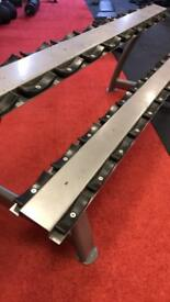 Dumbbell rack 2 tier