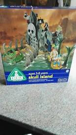 ELC Skull Island 3-8 years wooden toy