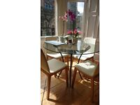 John Lewis Glass Dining Room Table